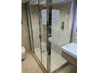 Ex Display 1500mm x900mm Sliding Shower Enclosure