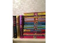 21 Jacqueline Wilson Books (over £100)