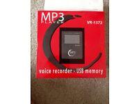 MP3 - Voice recorder - USB memory