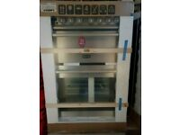 Boxed Brand New Stainless Stell RangeMaster A+++ Class 60 cm Ceramic Cooker With Grill And Oven