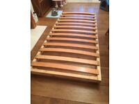 Stowaway bed frame