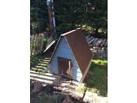 Wooden Duck house, chicken coop