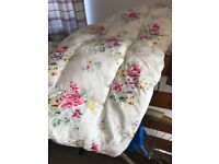 Plump feather Cath Kidston Eiderdown. Measures 60 inches x 50 inches