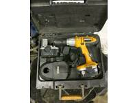 Worx drill driver and charger