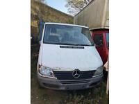 Mercedes sprinter 311 cdi breaking for parts