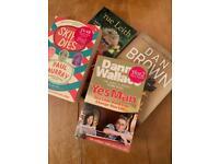 4 new unread books