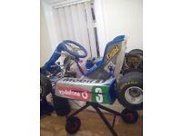 F1 80 cc racing go kart