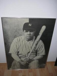 Babe Ruth Framed Poster