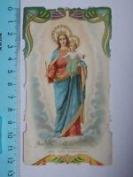 Vecchio Santino Holy Card Maria Auxilium Christianorum S. Bernardo 1846 - bernardo - ebay.it