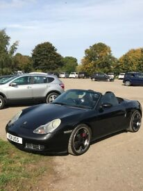 Porsche boxster 3.2 in great condition