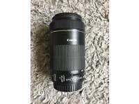 Canon 55-250mm EFS STM lens & Lens hood