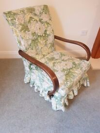 very old wooden arm chair ANY SENSIBLE OFFER CONSIDERED