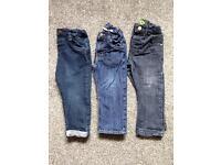 18-24 Months boys skinny jeans bundle