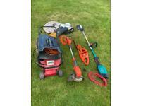 Electric garden power tool job lot - May Split