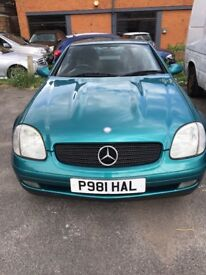 Mercedes-Benz slk230 compressor convertible roadster 198bhp