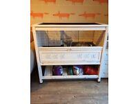 2 Storey Guinea Pig/Rabbit Indoor Cage sold