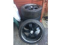 Wheels and tyres great condition. A roof box is also available.