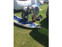 Challenger 2man inflatable kayak