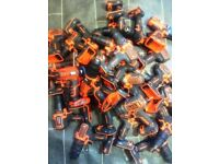 black and decker Joblot 33 x 18v drills (all working) 11 x power tools (untested)