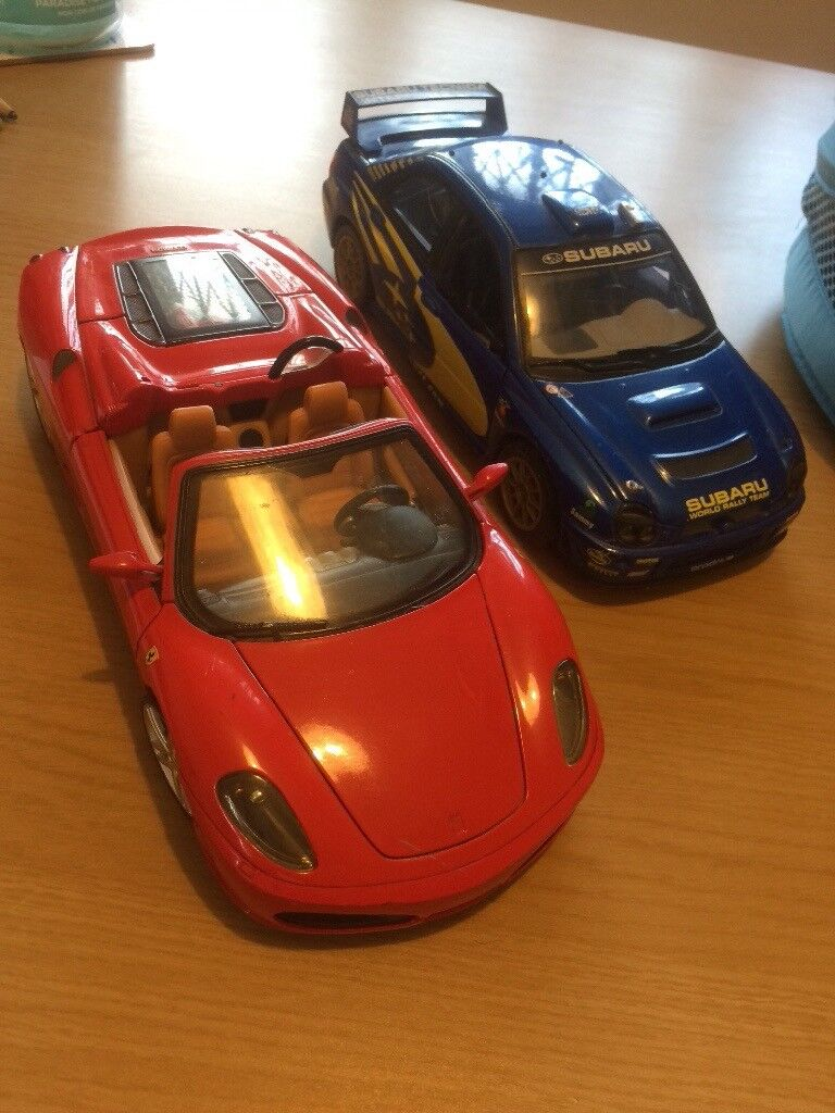 2 X Diecast Cars