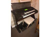 Electric piano organ