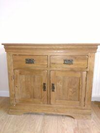 Solid Oak Small Sideboard (from Oak Furniture Land)