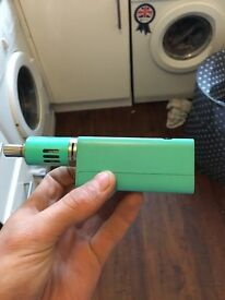 Green vapouriser works fine it's like brand new just needs a new coil
