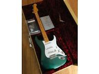 Fender Custom shop 1955 Stratocaster Sherwood Green 30th anniversary