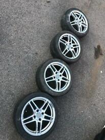 Amazing looking alloys wheels 4x108.. 5 spoke!