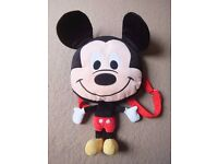 Mickey Mouse figure kids backpack