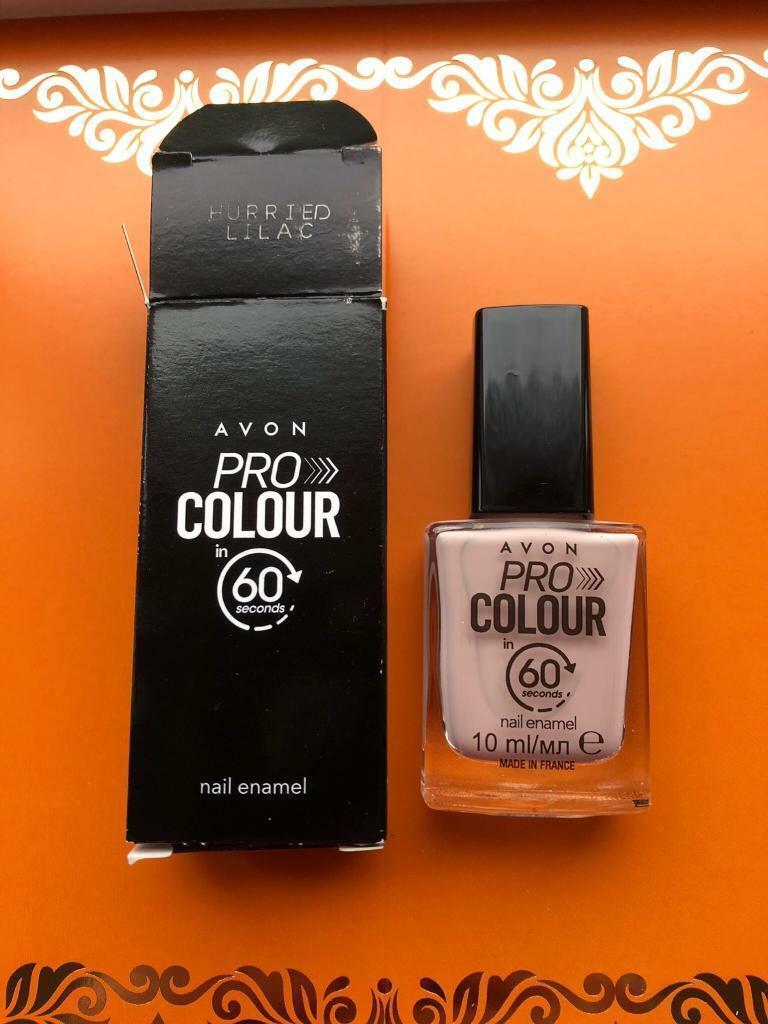 Brand New Avon Pro Colour 60 Seconds Nail Enamel Hurried