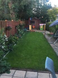 Fencing, replacing roof felt, painting, jet wash, gardening, turfing...