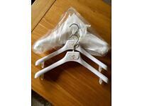 Velvet Bridesmaids Hangers x3