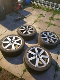 "Ford 18"" wheels focus mondeo transit 5 stud"