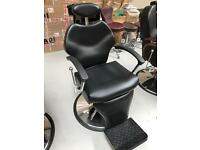 NEW UK HEAVY DUTY BLACK HADI® UK BARBER CHAIR ,CASH ON COLLECTION ONLY