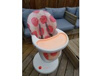 Cosatto 3sixti macaroon high chair £25 Perfect Working Order