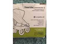 Mountain buggy free rider attachment connector 2