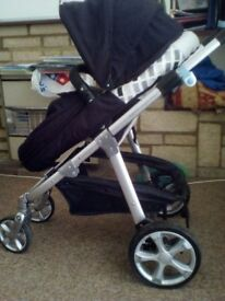 Mamas and Papas Ziko Herbie pram Pushchair only £75