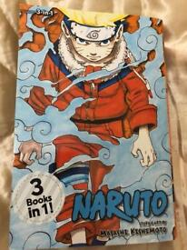 Naruto collected volumes 1,2&3.