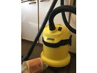 Kärcher WD 2 , WET and DRY vacuum cleaner