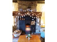 Trad Welsh cottage -spectacular views of Lake Crafnant, Nr.Betws Y Coed, CONWY, Snowdonia, N.Wales
