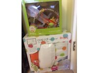 Red kite cot bed set and mobile