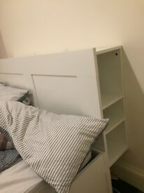 Brimnes King Size bed + Mattress