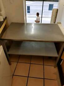 Stainless steal benches