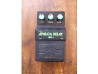 Vintage Aria ADL-1 Analog Delay MIJ 80s Panasonic MN3205 BBD chip same as Boss DM2 Maxon Ibanez AD9