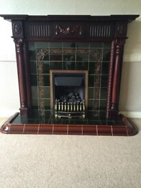 Traditional Style Fireplace