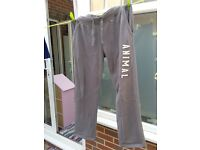 Animal jogging bottoms (fleece lined) Size small
