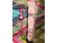Hello Kitty Flik Flak watch