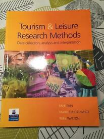 Tourism and Leisure Research Methods