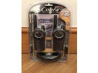 Cobra MT975-2 VP Pro Walkie Talkie Set, Brand New & Sealed, 12KM Range, 8 Channels, Rechargeable